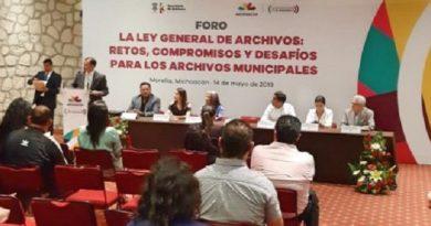 La Ley General de Archivos de México